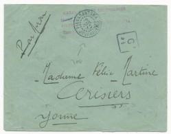 1945 - MADAGASCAR - RARE OBLITERATION De JOURNAUX De FIANARANTSOA Sur ENVELOPPE Par AVION AVEC AFFR. TAXE PERCUE - Lettres & Documents