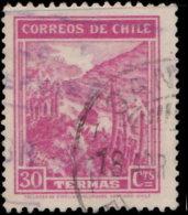 Chili 1942. ~  YT 195 - Soiurce Thermale - Chili