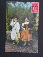 Ref5292 NIK CPA Couple D'enfants En Costume Folklorique - Portugal Madeira Costume Folklore 1913 - Europe
