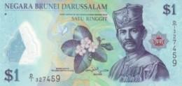 BRUNEI 1 DOLLAR 2011 P-35a UNC [BN301a] - Brunei