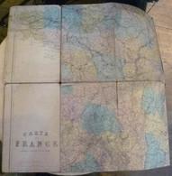 Carte De France – Ambulance De Guerre 1870 - Geographical Maps