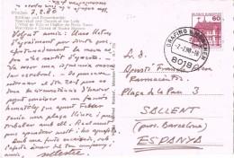 18398. Postal GRAFING MUNCHEN (Alemania Federal) 1980. Rathaus Unf Frauenkirchen - [7] República Federal