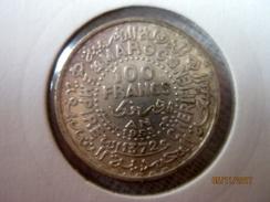 100 Francs 1953 (argent) - Morocco