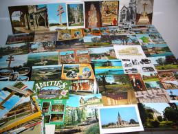 HAUTE MARNE Un Lot De 100 Cartes Postales Du Département De La HAUTE MARNE - Non Classés