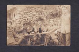 Carte Photo Guerre 1914-1918 Feldpostkarte 34. Infanterie Division Armee Allemande 10/11/1915 - Weltkrieg 1914-18