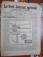 LE PETIT JOURNAL AGRICOLE 16/07/1905 AVEC PUB Les Faucheuses 16 PAGES - Livres, BD, Revues