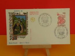 FDC- Europa CEPT, St Benoit - 974 St Benoit - 13.7.1980 - 1er Jour, Coté .. € - Europa-CEPT