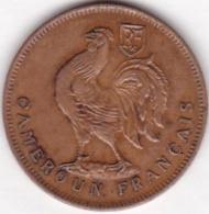 CAMEROUN FRANCAIS  .1 FRANC 1943. BRONZE - Cameroun