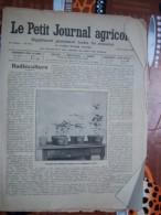LE PETIT JOURNAL AGRICOLE 30/12/1906 AVEC PUB 16 PAGES RADIOCULTURE - Livres, BD, Revues