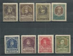POLOGNE - 1917 - SERIE VIGNETTES De BIENFAISANCE De CHARITE POUR LES PAUVRES NEUVE AVEC CHARNIERE.