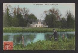 CPA: Dépt .27. LOUVIERS . Château De Pinterville . Pêcheur à La Ligne . - Louviers