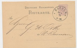 DR-Stempel Beleg/GA -Barmen  ( Be9027 ) Siehe Scan - Briefe U. Dokumente