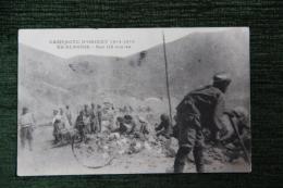 Guerre 1914 -1918, Campagne D'Orient, En ALBANIE , Sur Les Routes. - Guerra 1914-18