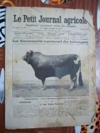 LE PETIT JOURNAL AGRICOLE 16/06/1907 AVEC PUB 16 PAGES TAUREAU LIMOUSIN MR DELPEYROU - Livres, BD, Revues