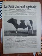 LE PETIT JOURNAL AGRICOLE 25/08/1907 AVEC PUB 16 PAGES TAUREAU BRETON - Livres, BD, Revues