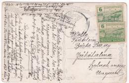 521 PROVINZ SACHSEN Mi 85wa Goethe Denkmal Postcard To Ungarn - Zone Soviétique