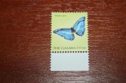 Butterflies 2001  Gambia Nominal 100D - Butterflies
