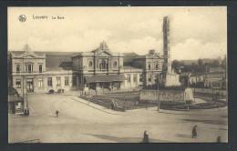 CPA - LOUVAIN - LEUVEN - La Gare - Statie - Nels - E.Thill  Série 36 N° 2  // - Leuven