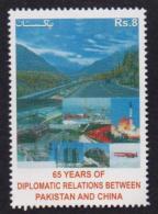 PAKISTAN 2016 MNH - 65 Years Of Diplomatic Relations Pakistan And China - Pakistan
