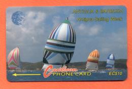 "ANTIGUA & BARBUDA: ANT-7A ""Sailing Week 1"" CN:7CATA (1993) - Antigua And Barbuda"
