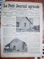 LE PETIT JOURNAL AGRICOLE 21/09/1913 AVEC PUB 16 PAGES COOPERATIVE AGRICOLE DE PROUAIS - 1900 - 1949