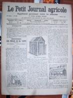 LE PETIT JOURNAL AGRICOLE 4/0/1914 AVEC PUB 16 PAGES LES POULES DE MA TANTE LES PIGEONS LEUR LOGEMENT - Livres, BD, Revues