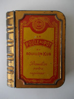 - RARE - Boite Métal. La Poule Au Pot Du Bouillon KUB - - Dozen