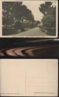 6066) MACERATA SANSEVERINO MARCHE GIARDINO PUBBLICO STRADONE CENTRALE NON VIAGG 1930 - Macerata