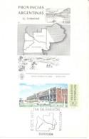CENTRO CIVICO SANTA ROSA PROVINCIA DE LA PAMPA TARJETA CARD FDC AÑO 1977 L'ARGENTINE - Other