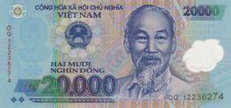 VIETNAM 20000 ĐỒNG ND (2012) P-120e UNC  [VN344e] - Vietnam