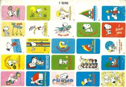 SNOOPY First Série, Patty Pimentinha & Woodstock - Peanuts Hallmark - Illust. Schulz - Portugal - Illustrateurs & Photographes