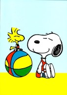 SNOOPY & Woodstock On The Beach With A Ball - Peanuts Hallmark - Illust. Schulz - Portugal - Illustrateurs & Photographes