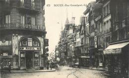 ". CPA  FRANCE  76 "" Rouen, Rue Grandport"" - Rouen"