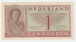 NETHERLANDS 1 GULDEN 1949 XF++ Pick 72 - [2] 1815-… : Kingdom Of The Netherlands