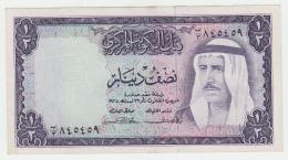 Kuwait 1/2 Dinar 1968 VF++ Pick 7a 7 A - Kuwait