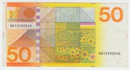 Netherlands 50 Gulden 1982 VF+ Banknote Pick 96 - 50 Gulden