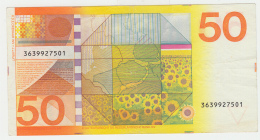 Netherlands 50 Gulden 1982 VF+ Banknote Pick 96 - [2] 1815-… : Kingdom Of The Netherlands