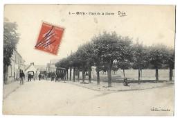 ORRY (OISE) - - PLACE DE LA MAIRIE CPA 1918 - Luneville