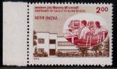 India MNH 1994, Calcutta Blind School For Disabled, Handicap, Health,  Computer,