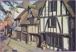 Angleterre °° Sussex - RYE - Vieilles Demeures à Colombages - écrite 1968 - Rye