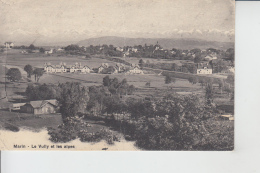 Marin - Le Vully  (Neuchâtel)  Et Les Alpes       En 1915 - NE Neuchâtel