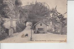 Les Brenetes  (Neuchâtel)   -  Route Des BRENETS  -  Le Col France Et La DOUANE  (Zoll)    Animée          En 1911 - NE Neuchâtel
