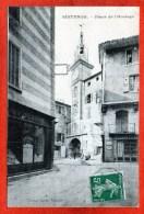 CPA - D04 - SISTERON - ( Alpes De Hte Provence ) - Oblit 1912 - Place  De  L' Horloge - - Sisteron