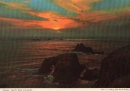 Postcard - Longships Lighthouse & Land´s End, Cornwall. 2DC15 - Lighthouses