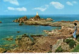 Postcard - La Corbiere Lighthouse, Jersey. ET.3707R - Lighthouses