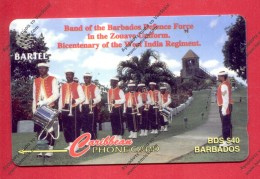 "BARBADOS: BAR-16B ""Defence Force Band"" CN:16CBDB. Rare (34.600ex). (1995)"