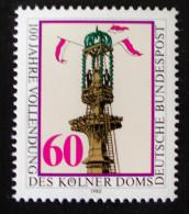CATHEDRALE DE COLOGNE 1980 - NEUF ** - YT 910 - MI 1064 - Neufs