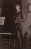 !  Ansichtskarte Ca. 1921 Günther Ramin, Leipzig, Klavier, Schüler Von Robert Teichmüller - Leipzig