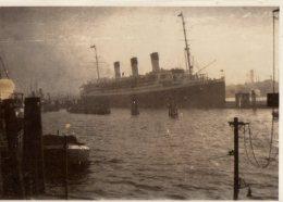 Photo Originale Navire Allemand - Paquebot Vapeur Le Cap Arcona De Grand Luxe En Octobre 1927 - - Bateaux