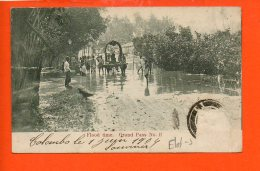 COLOMBO : Flood Time - Grand Pass No. II (état : Abimée) - Sri Lanka (Ceylon)